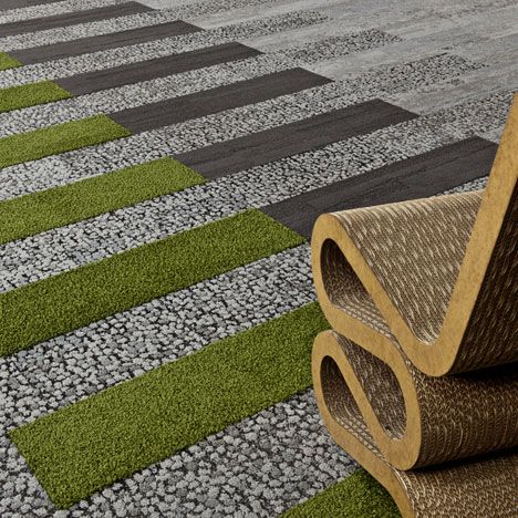 International carpet tile manufacturer Interface has announced the release of Human Nature, a new flooring collection inspired by nature.