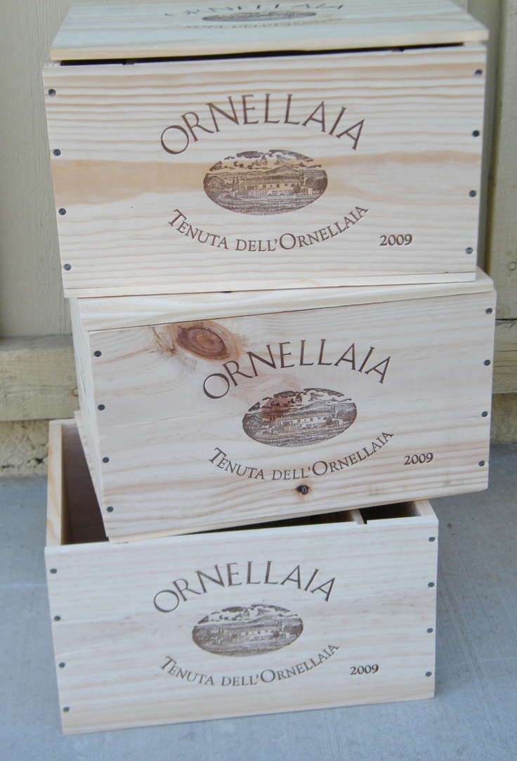 Wine Crates For Projects/Build Ideas. $15.00, via Etsy.