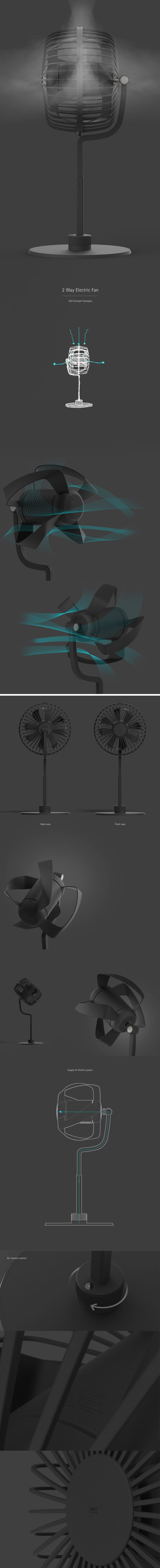 2 Way Electronic Fan