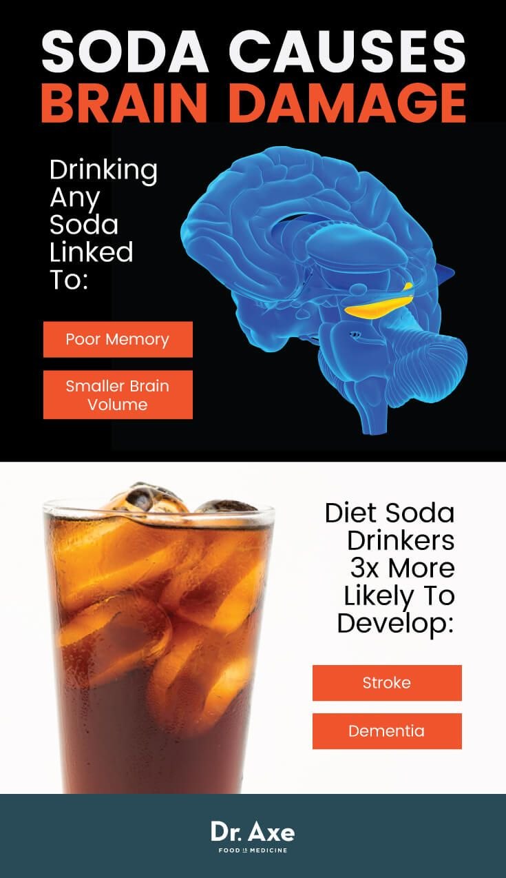 Artificially sweetened drinks increase risk of stroke and dementia - Dr. Axe