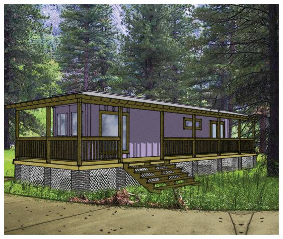 Shipping Container Home Plans 1 Bed 1 Bath  by modernfurnishings, $5.00