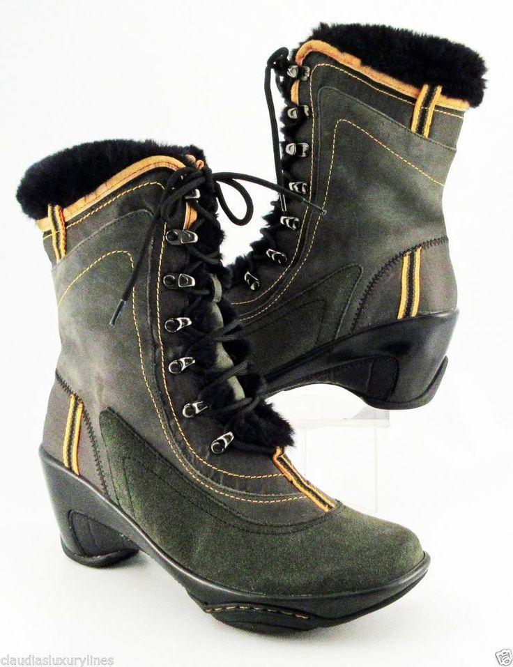 "J-41 Green ""Pacific"" Waterproof Hiking Snow Weather Boots 8 Medium #J41 #SnowWinter #ClaudiasPrice $64.95"