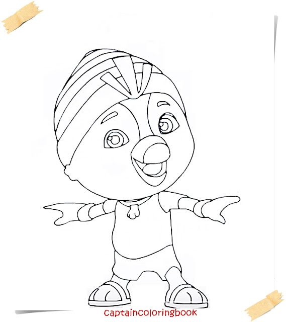 Coloring Page Top Wing New Series Cartoon Coloring Page Cartoon Coloring Pages Coloring Pages Coloring Books