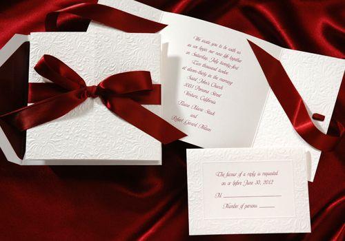 Wedding Invitation Ideas Pinterest: 1000+ Ideas About Ivory Wedding Invitations On Pinterest