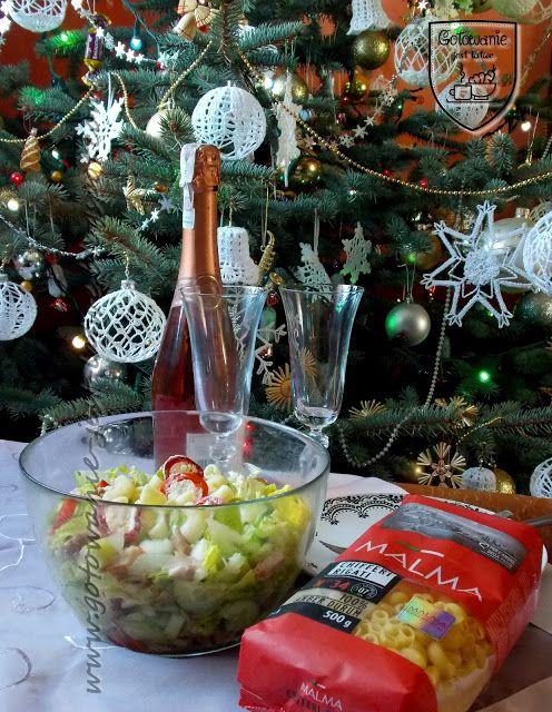 Gotowanie jest łatwe: Sałatka z makaronem i łososiem
