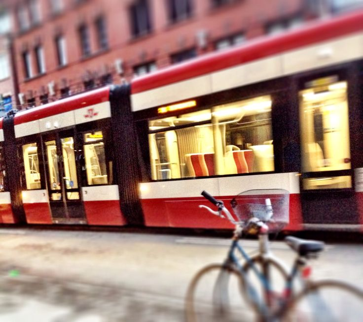 Our new and improved streetcar #TTC