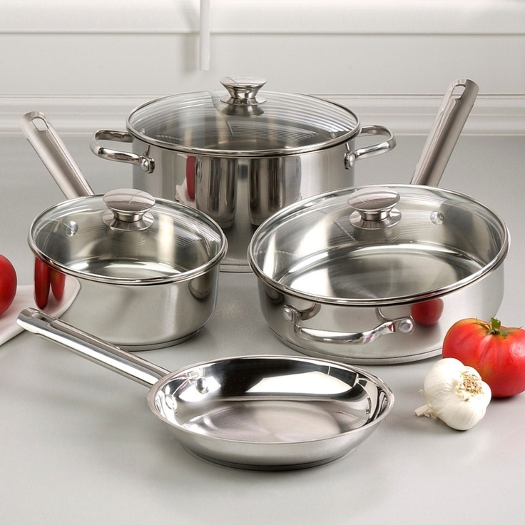 Wolfgang Puck Bistro Collection Cookware Set — #GotThis similar set minus one lid for $45 at a thrift store