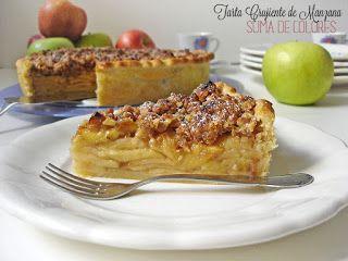 Suma de Colores: Crumble Apple Pie (Tarta de manzana crujiente)