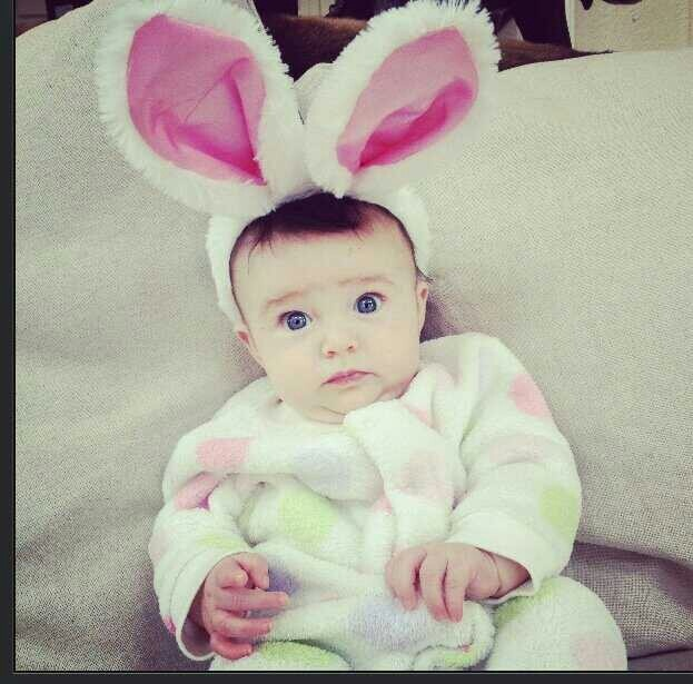olive pearl owen decked out and ready for easter she is