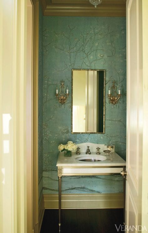 Recreating The New Orleans Aesthetic For Mardi Gras Powder RoomsInterior Design BlogsSouth