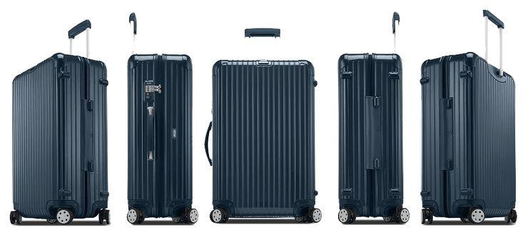 Kufr Rimowa 67 Salsa Deluxe, modrá | Delmas.cz - kabelky, peněženky, pánské tašky, cestovní zavazadla