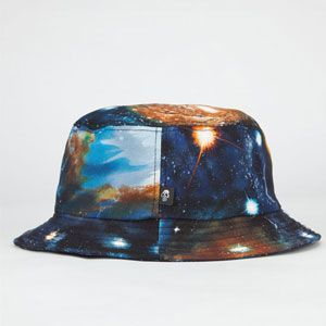SKULLS Cosmos Mens Bucket Hat
