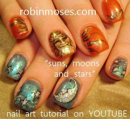 sun nail art design - Google Search