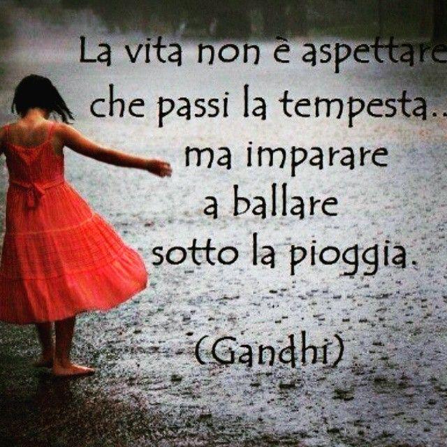 ...imparare a ballare sotto la pioggia