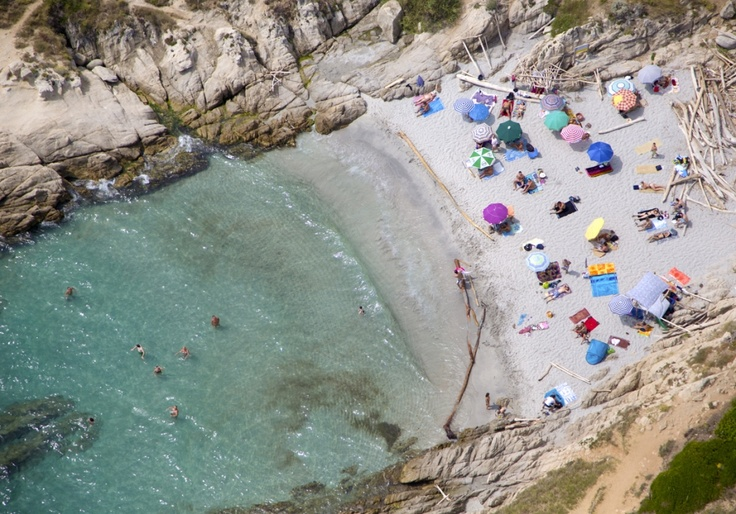 Saint Tropez secret beach by Gray Malin