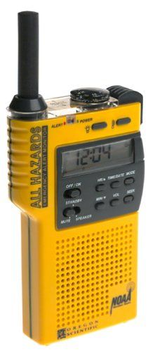 Camp emergency radio - Pin it! :) Follow us :))  zCamping.com is your Camping Product Gallery ;) CLICK IMAGE TWICE for Pricing and Info :) SEE A LARGER SELECTION of camping emergency radios at  http://zcamping.com/category/camping-categories/camping-survival-and-navigation/camping-emergency-radios/ - hunting, camping essentials. camping ,  two way radio -  Oregon Scientific WR8000 Hand Held All Hazard Radio « zCamping.com
