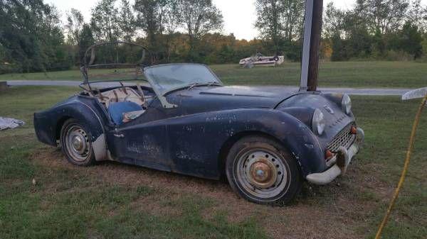 1958 Triumph TR3 Original Car - $9500 Grover, NC #ForSale ...