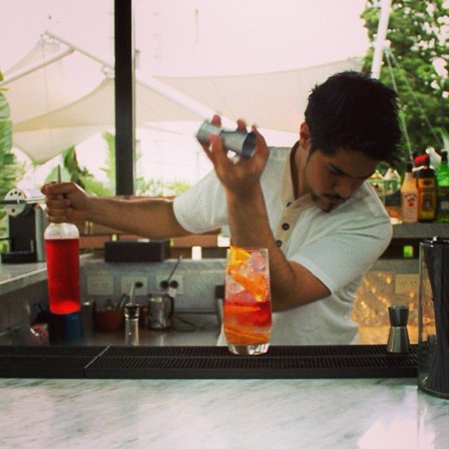 Relax and enjoy a cocktail in our garden at #nuestrosecreto @Four Seasons Hotel Buenos Aires #fsfotog #fstaste