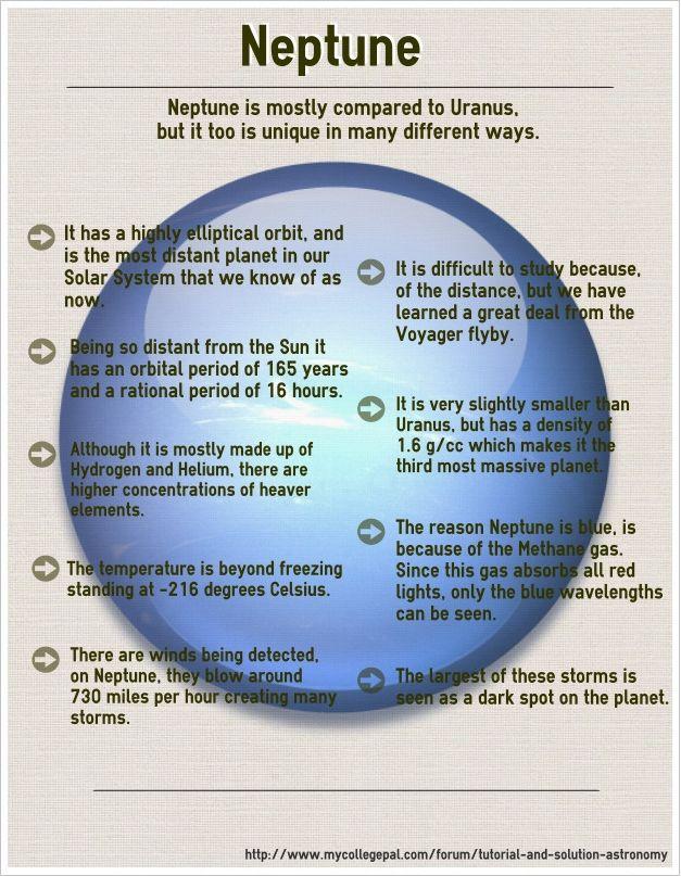 Neptune... metallic oceans with diamond icebergs?!