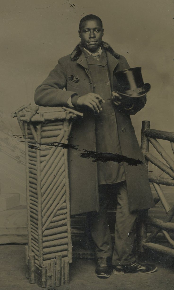 19th century african americans | African-American, top hat