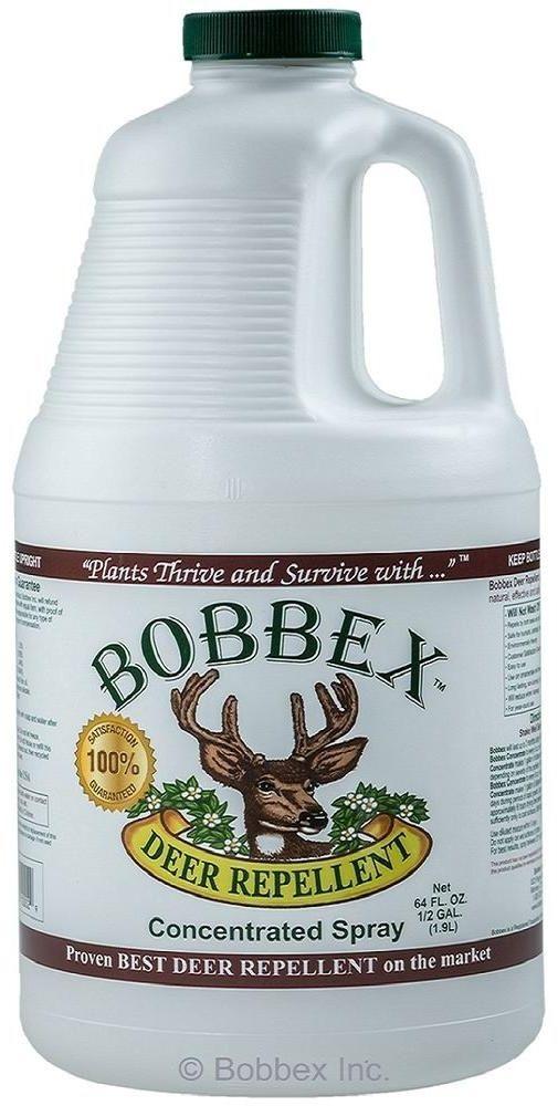 0.5 Gal. Bottle Bobbex Deer Pest Repellent Liquid Concentrated Spray #Bobbex