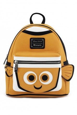 b210b76fadb Loungefly x Disney s Finding Nemo Character Mini Backpack Orange Sorbet  Cute Mini Backpacks