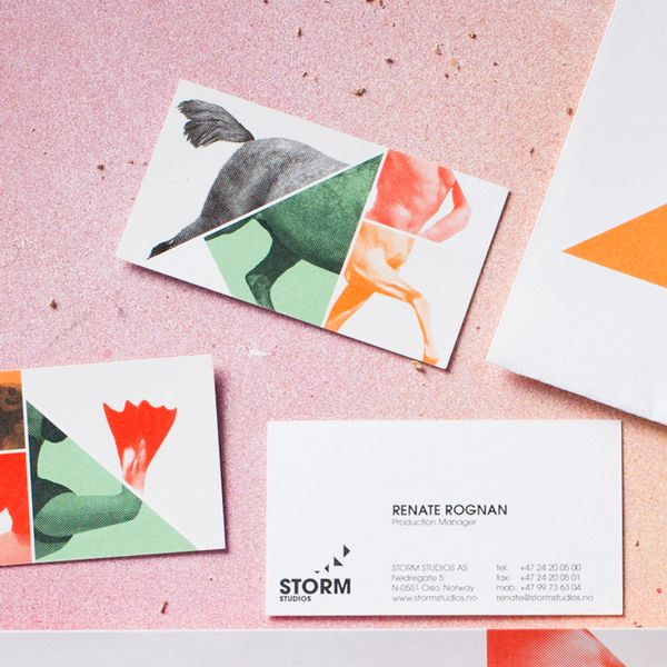 """Name: Storm Studios • Designer: Commando Group • Description: """"The identity emphasise the creative nature of the business — making new and weird creatures by merging humans and animals."""" — """"Storm Studios"""", Commando Group (Retrieved: 20 March, 2013)"""