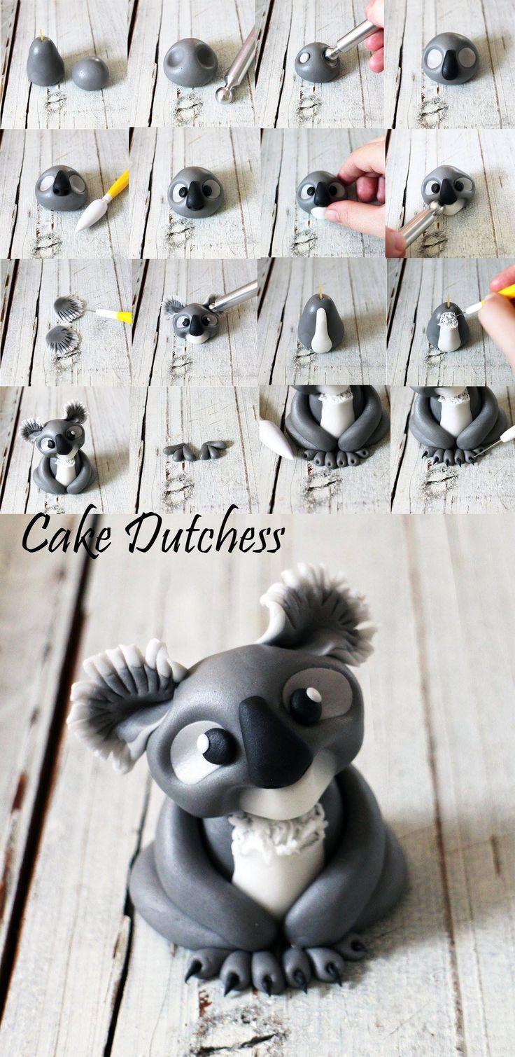 Kuala Bear Tutorial by Cake Dutchess