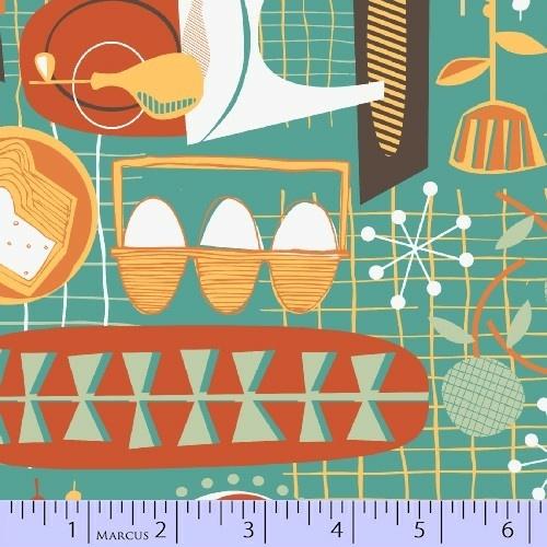 KITSCHY KITCHEN from Greta Songe, Marcus' newest design team member!: Quilts Fabrics, Design Team, Kitschi Kitchens, Fabrics Lust, Greta Songs, Team Member, Newest Design