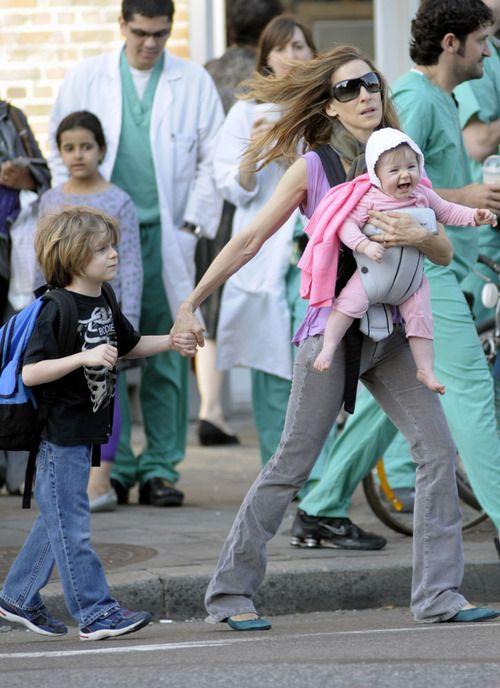Sarah Jessica Parker Babies | Sarah Jessica Parker: Kids And The City | Celebrity Baby Scoop