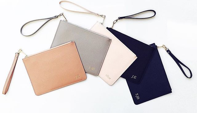 Our Perfect Pouch in Nude, Grey, Pink, Black