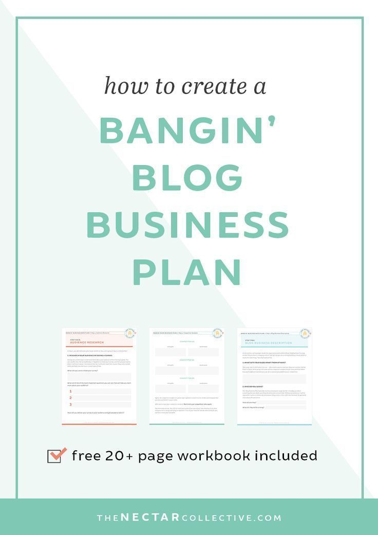 How to Create a Bangin' Blog Business Plan | Want to turn your blog into a business and make a living online? You need to start with a plan. This detailed post describes exactly how to create a strategy for your blog. It also includes a totally FREE 20+ p
