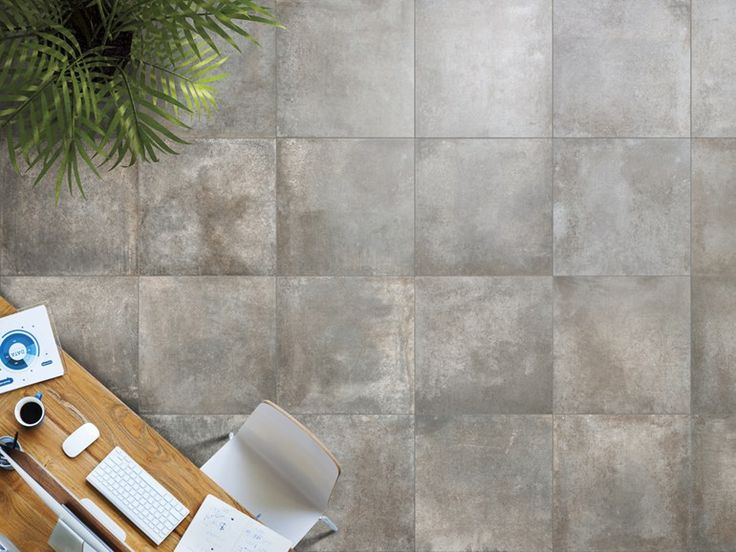 Wall Floor Tiles With Metal Effect Rust By