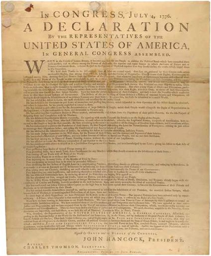 july 4 1776 congress adopted declaration independence