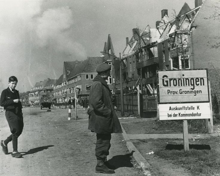 Groningen Flies Canadian Flags To Thank Troops Who Liberated City
