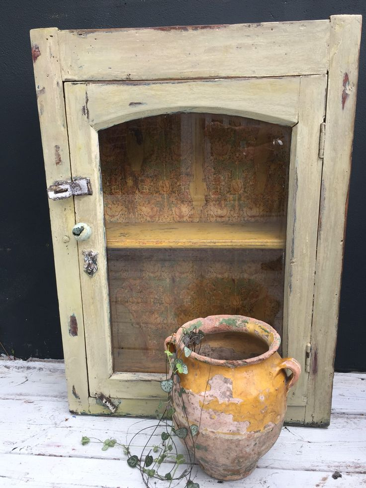 Vintage Distressed William Morris Cabinet By TrouveArtandClothing On Etsy  Https://www.etsy