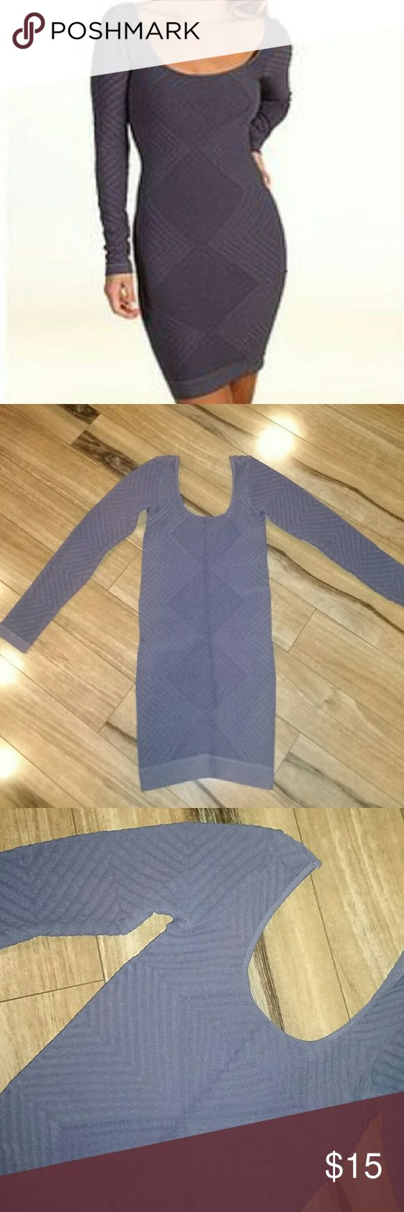 """Bcbgeneration bodycon dress! In perfect condition purple diamond pattern bodycon dress in """"moonshadow"""" color! BCBGeneration Dresses"""