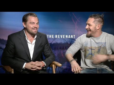 Leonardo DiCaprio and Tom Hardy interview for THE REVENANT - YouTube