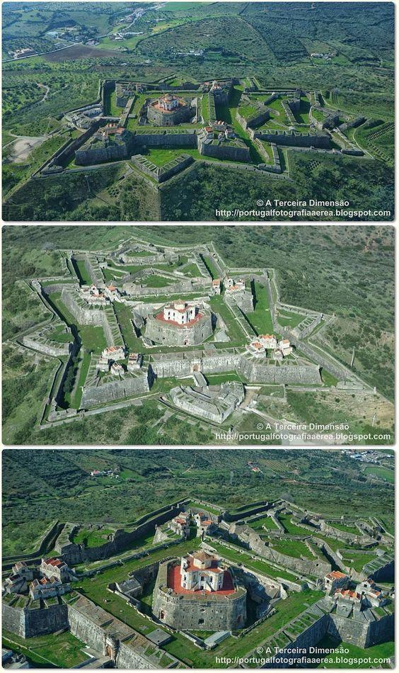 Forte de Nossa Senhora da Graça, oficialmente denominado de Forte Conde de Lippe, Alcáçova, Distrito de Portalegre.