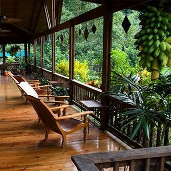Pico Bonito Lodge, La Ceiba, Honduras- peaceful mornings sipping cocoa
