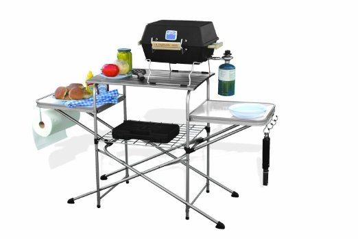 Amazon.com: Camco 57293 Deluxe Grilling Table: Automotive