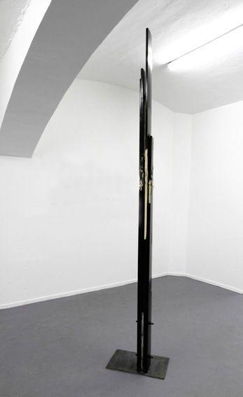 Clemens Hollerer, Waiting room two, 2011, Holz, Lack, Stahl