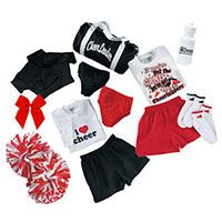 Accessory PAX | Cheerleading Accessories Packages - Cheer Briefs, Cheerleading Pom Poms, Cheer Socks, Cheerleader Bags, Cheer Halftops, Cheer T-Shirts & More! A great way to save!