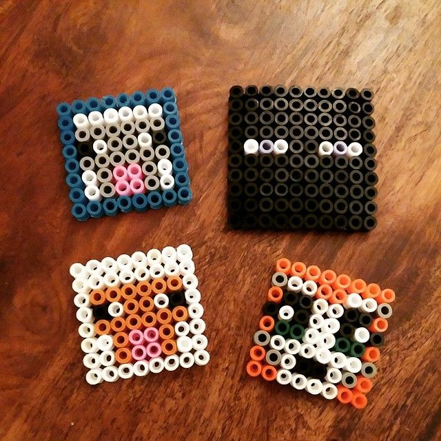 Minecraft hama beads by msbrightside81