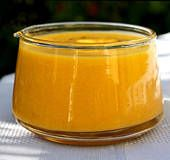 Mango Sauce/Dip...Use it as a dip for cooked shrimp (great with coconut shrimp!), calamari, spring rolls or fresh rolls, or whatever appetizers you happen to be serving up. You can also use this mango sauce in stir-fries, such as mango chicken or shrimp stir fry.