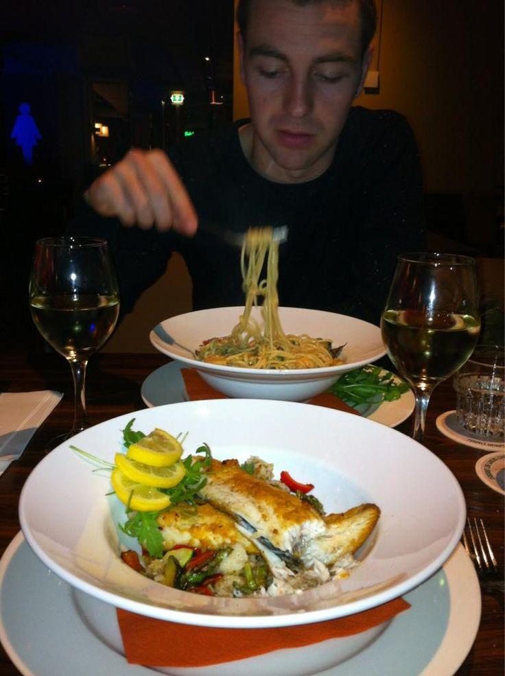 Twitter / Marijn28: Lekker uit eten geweest bij ...