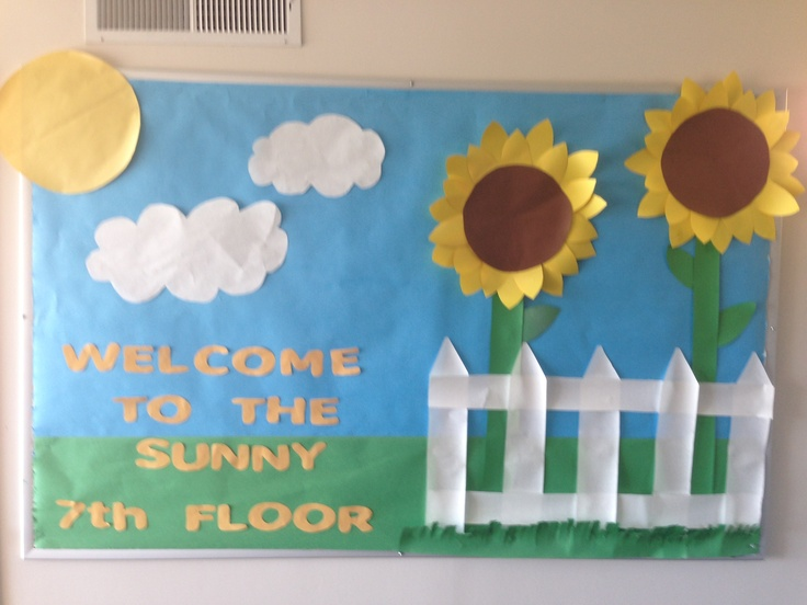 The 25 best summer bulletin boards ideas on pinterest for Decorating bulletin boards for work