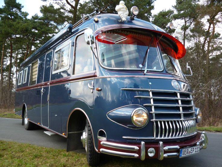 Wohnmobil Mercedes-Benz OP311 7,49t Oldtimer Bj.1955 -Das wilde Leben- Rarität in Auto & Motorrad: Fahrzeuge, Wohnwagen & Wohnmobile | eBay