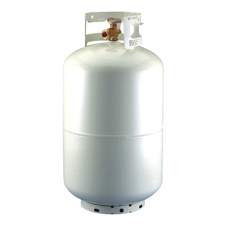 33.5 lb (7.5 gallon) only @ $125.57 Manchester Propane Forklift Cylinder with Quick Coupler and Gauge.  Without Fill Valve. Certified, Mounts Vertical or Horizontal, Portable, Steel Tank.