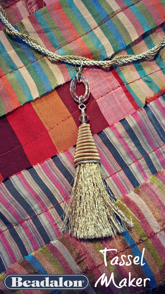 Tassel Jewelry Idea with Beadalon's Tassel Maker